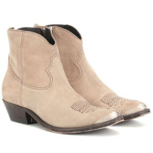 NEW Golden Goose Young Suede Ankle Boots